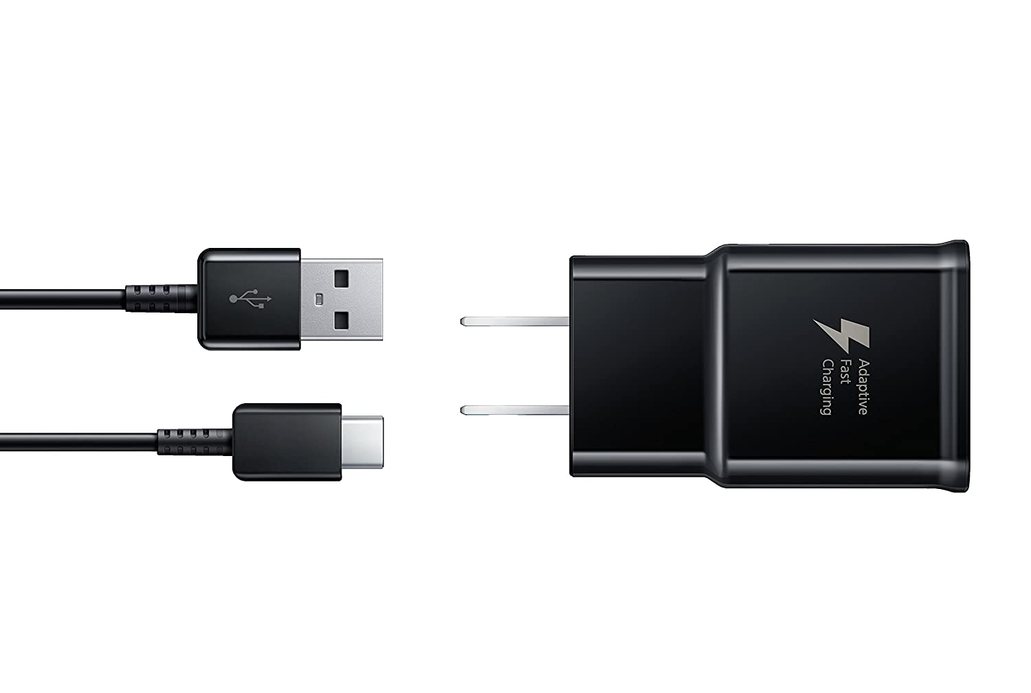 Samsung Fast Charger EP-TA20JBE and USB Type C Cable EP-DG950CBE for Galaxy S8 EP-TA20JBEUGUS