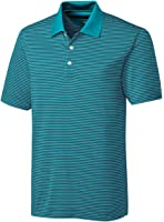 Cutter & Buck Men's Big And Tall Stripe Polo Shirt