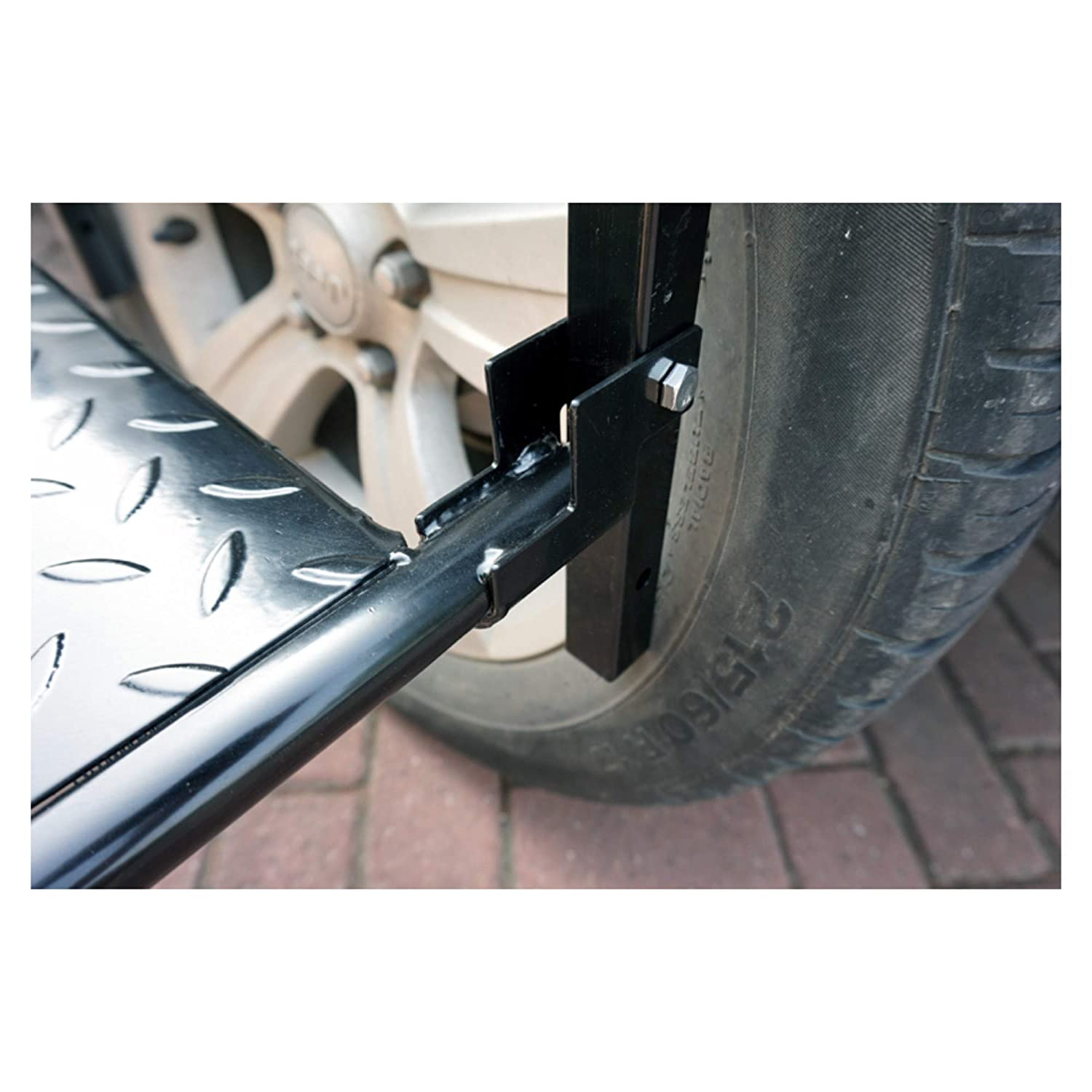 WINTOOLS Adjustable Folding Tire Step for Truck SUV Wheel Portable Non-Slip Platform