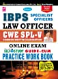 IBPS Specialist Officer SO Law Officer CWE - 5 Online Exam Self Study Guide-Cum Practice Work Book —English - 1507