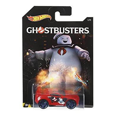 2016 Ghostbusters Set Number 1 of 8 (#1/8) Drift Tech Hot Wheels Featuring the Staypuff Marshmallow Man: Toys & Games