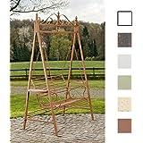 CLP 2 Sitzer / 3 Sitzer Garten Hollywoodschaukel AIMEE, Landhaus-Stil, Metall (Eisen) antik-braun