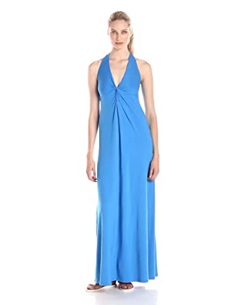 Splendid Women's Halter Maxi Dress at Amazon Women's Clothing store: