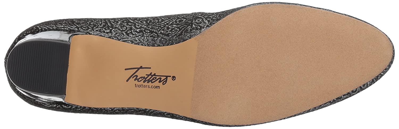 Trotters Women's Jamie B01MRZXSN0 10 N US|Black/Silver 45
