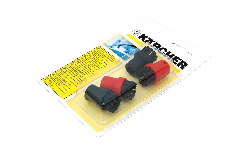 Kärcher 28630580 Borstendüse für Dampfreiniger, rund, für die Reihe SC1 für die Reihe SC1 Karcher