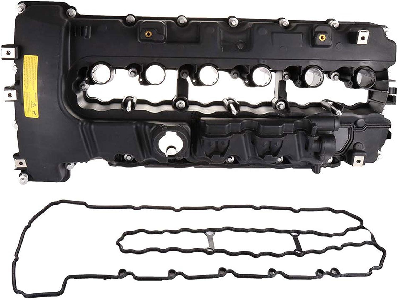 BOXI Engine Valve Cover With Gasket For BMW 135i 335i 535i 740i 740Li M2 M235i M240i X6 Z4 L6 3.0L 11127565284