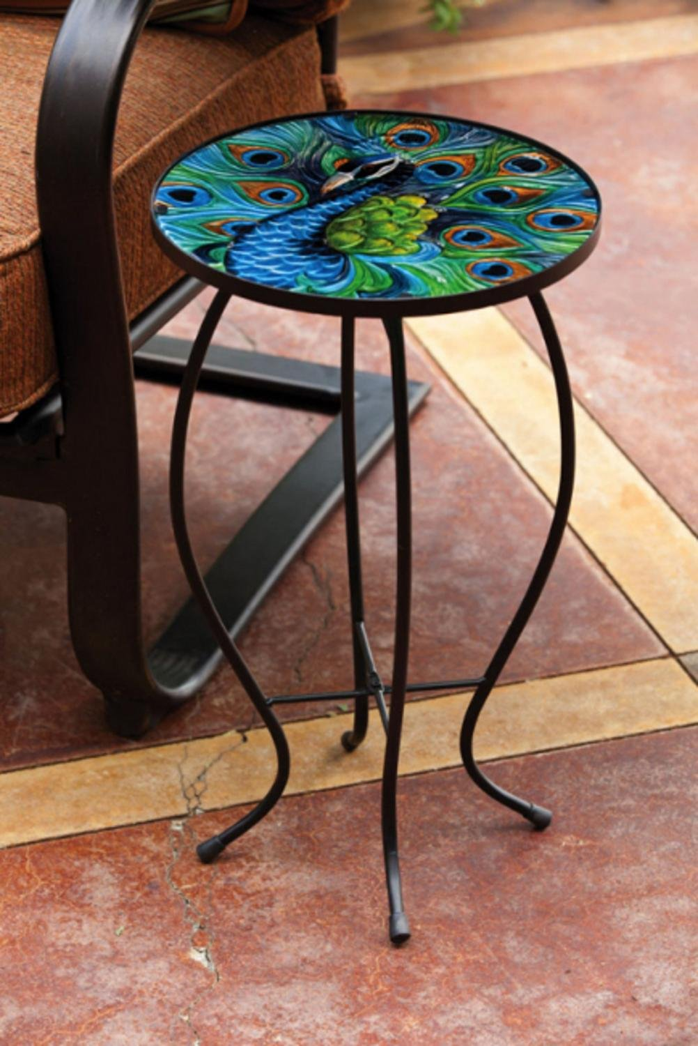 garden home product inch shipping international mandalay side patio table free today caravan overstock metal