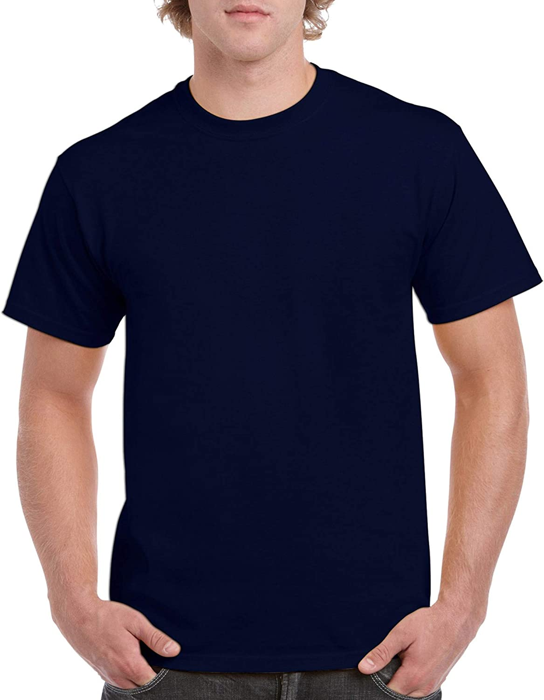 GILDAN Mens Heavy Cotton Adult T-Shirt 2-Pack Shirt