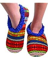 Snoozies Womens Comfy Soft Nordic Knit Fleece Slipper Socks