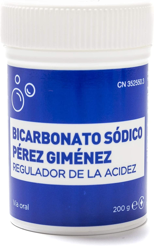 Pharmex - Pérez Gimenez - Bicarbonato Sódico Cuvenatur - Regulador De La Acidez - 200 G