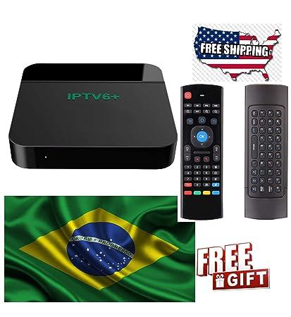 Amazon com: 2019 Official IPTV6 Brazil Box Based On HTV6 HTV 6, HTV5