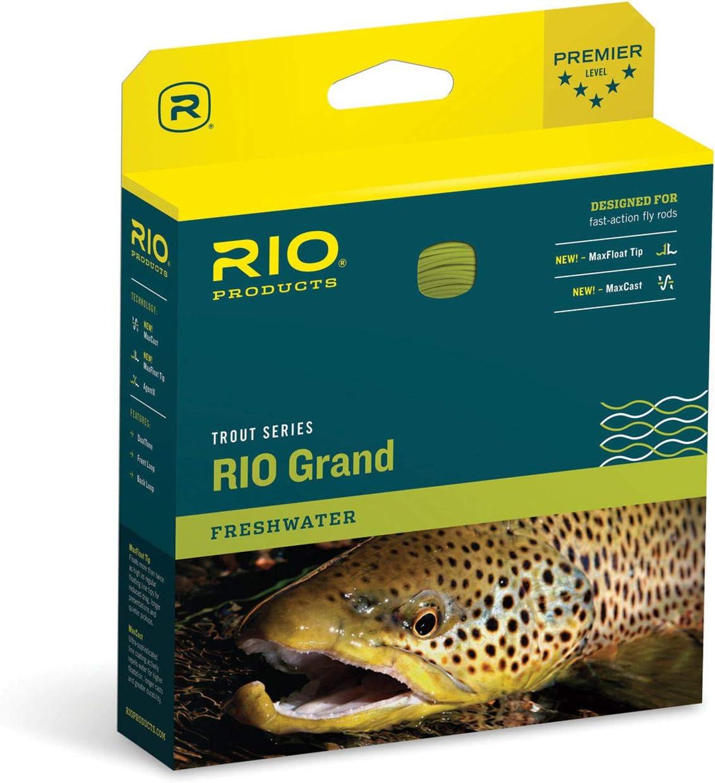 RIO Fly Fishing Fly Line Grand Wf5F Camo/Tan, Camo-Tan