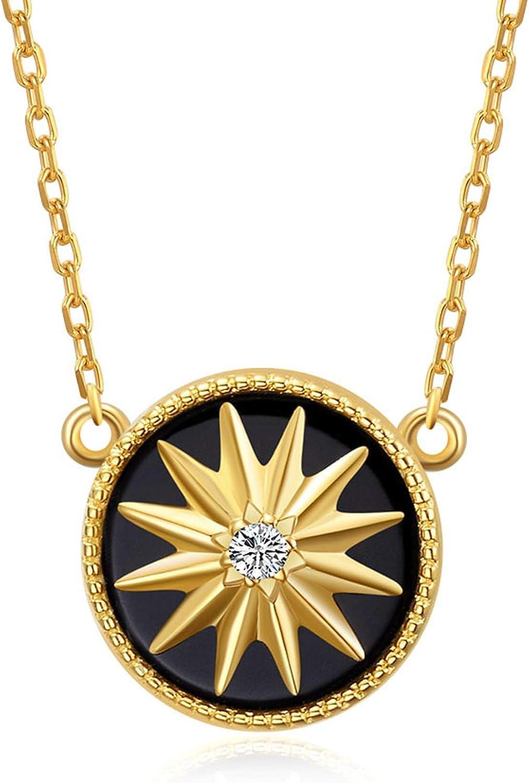 Bijoux demylene - Pendientes para mujer en forma cuadrada y hoja chapada en oro de fabricación artesanal y piedra natural facetada de calcedonia verde agua