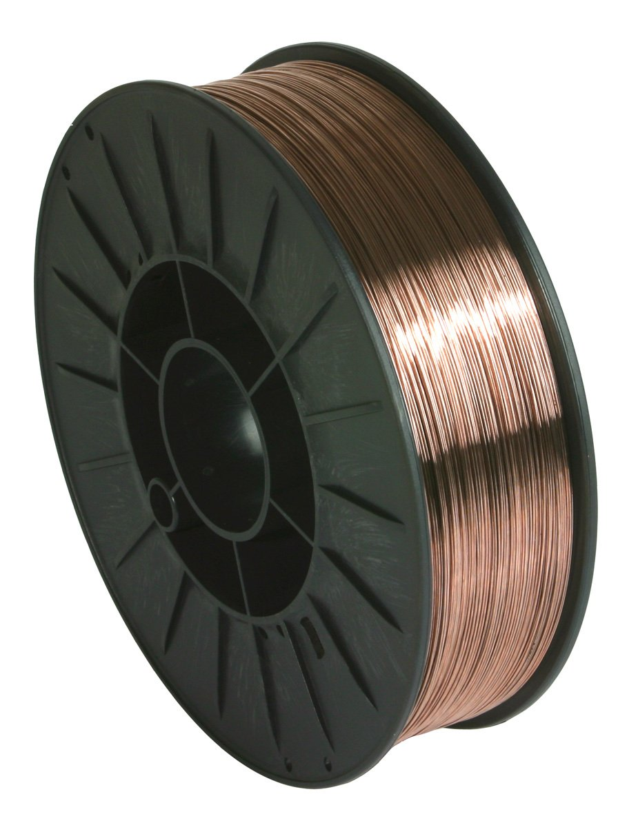 GYS Steel SG2 MIG 1.0mm-5Kg Suitable for 200mm Wire Reels Steel (SG2) MIG Wire -1.0mm - 5kg