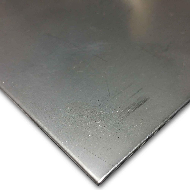 4 PACK .012 x4 x 11 304 Brite Stainless Sheet Metal   4 pcs.