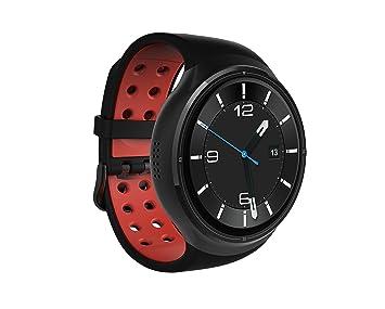 "ImCoSys imcoSWW17 Reloj Inteligente Negro AMOLED 3,53 cm (1.39"") Móvil GPS"