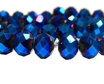 Großverkauf Schwarz Kristall Facettiert Böhmische Glasschliffperlen 10mm