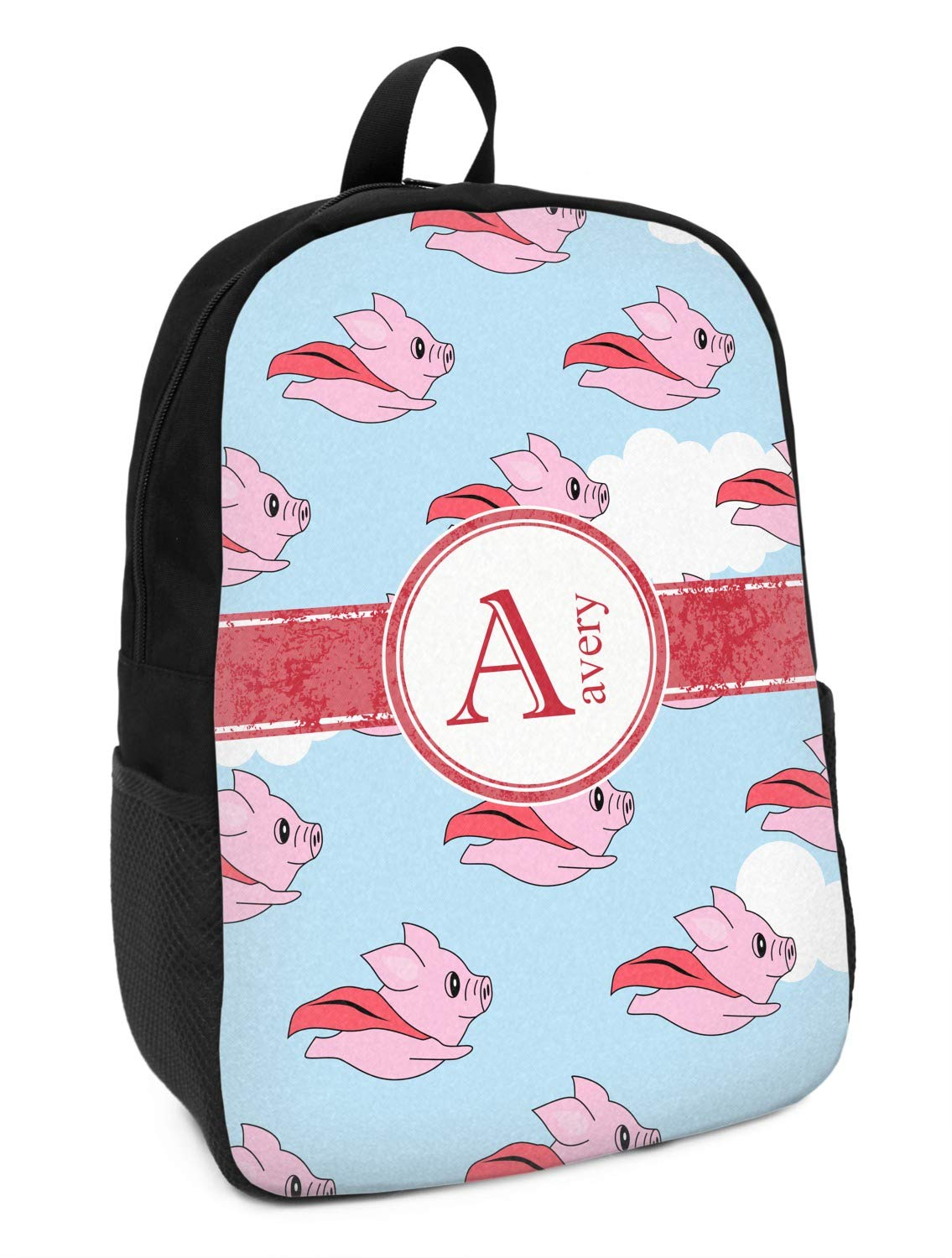 Personalized Flying Pigs Kids Backpack