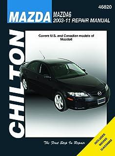 mazda6 2003 thru 2011 haynes repair manual editors of haynes rh amazon com Mazda SUV 2012 Mazda 3