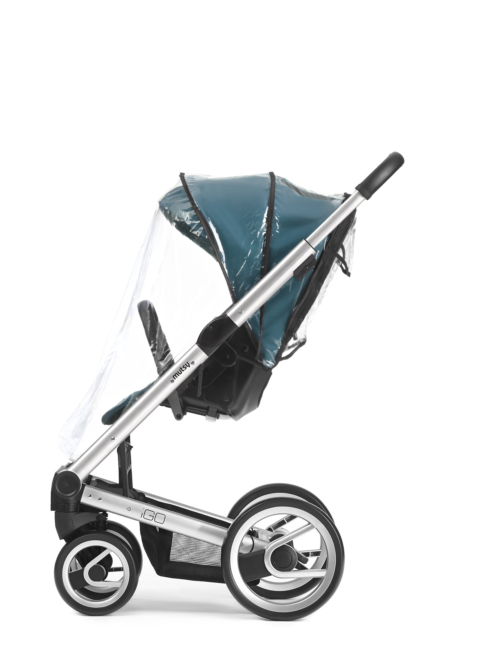 Mutsy Igo Stroller Seat Rain Cover, Clear by Mutsy (Image #1)