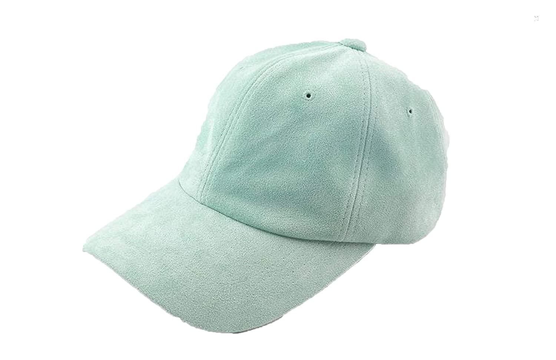 Jeremy Stone Adjustable Solid Macaroon Color Strapback Suede Baseball Cap Female Summer hat chapeu