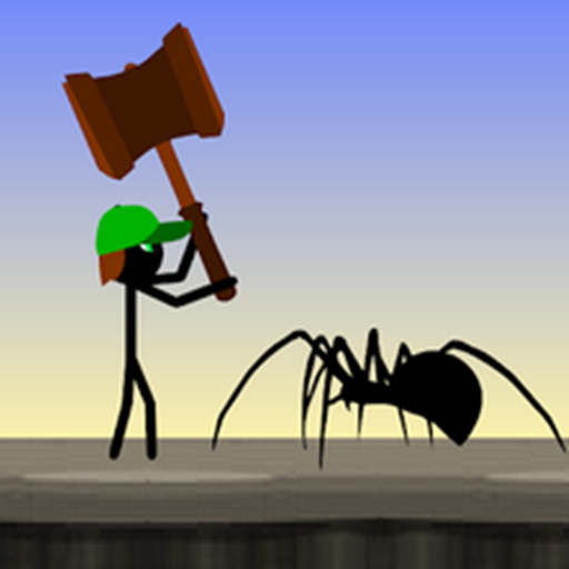 Stickman vs Spiders