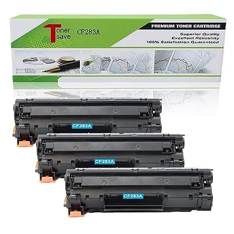 Amazon com: TonerSave Compatible CF283A Toner Cartridge for