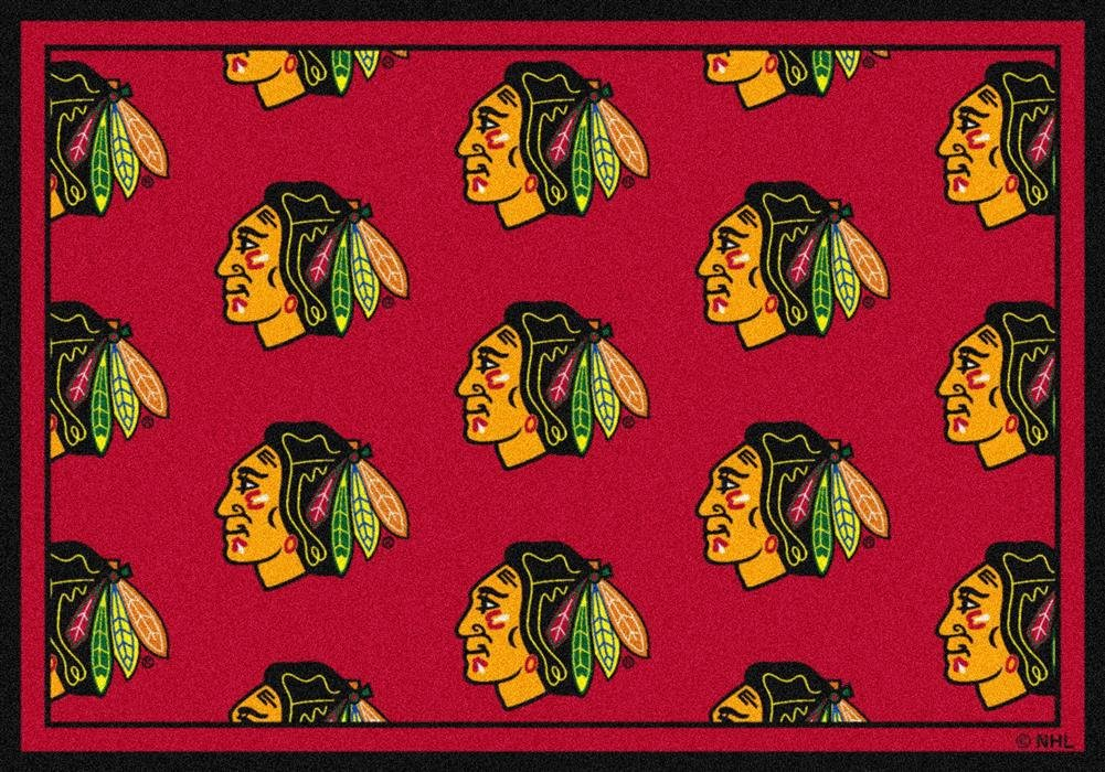 Chicago Blackhawks 21 x 78 Premium Runner Rug