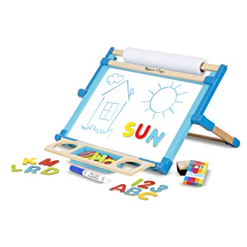 Melissa & Doug Double-Sided Wooden Kid Easel
