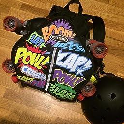 Voltage Skate and Skateboard Cartoon Bag Backpack by Voltage ...
