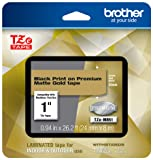 Brother P-touch TZe-M851 Black Print on Premium