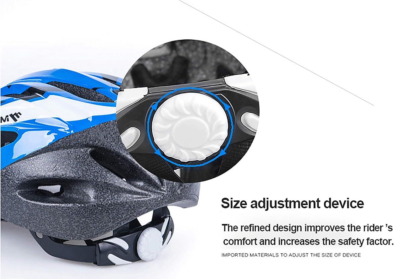 L 55-58 cm casco da pattinaggio estivo 52-55 cm Casco da bicicletta per bambino ragazzo ragazza semovente equipaggiamento protettivo da corsa per mountain bike circonferenza della testa adatta M