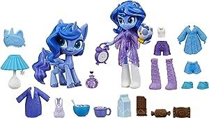"My Little Pony Equestria Girls Princess Luna Potion Princess -- 3"" Mini Doll & Pony Toy with 20 Accessories"