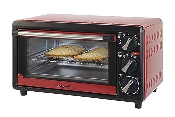 Korona 57003 - Horno tostador, 1200 W, 4 niveles funcionales, 14 litros,