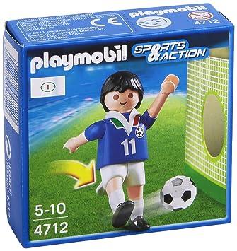 Playmobil - Fútbolista de Italia (4712)  Amazon.es  Juguetes y juegos af84ea241be