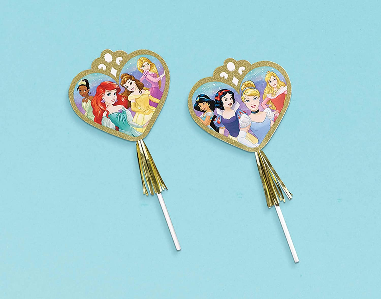 CINDERELLA Disney princess Birthday party supplies MAGIC WANDS  FAVORS 12pcs