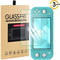 [3 Pack] Screen Protector Compatible with Nintendo Switch Lite 2019 Tempered Glass Film, YanYoung Premium Clear Tempered…