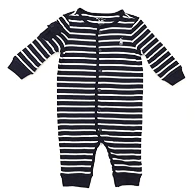 f4e1915585dd Ralph Lauren New Genuine Baby Boys Bodysuit Babygrow Romper - Blue ...