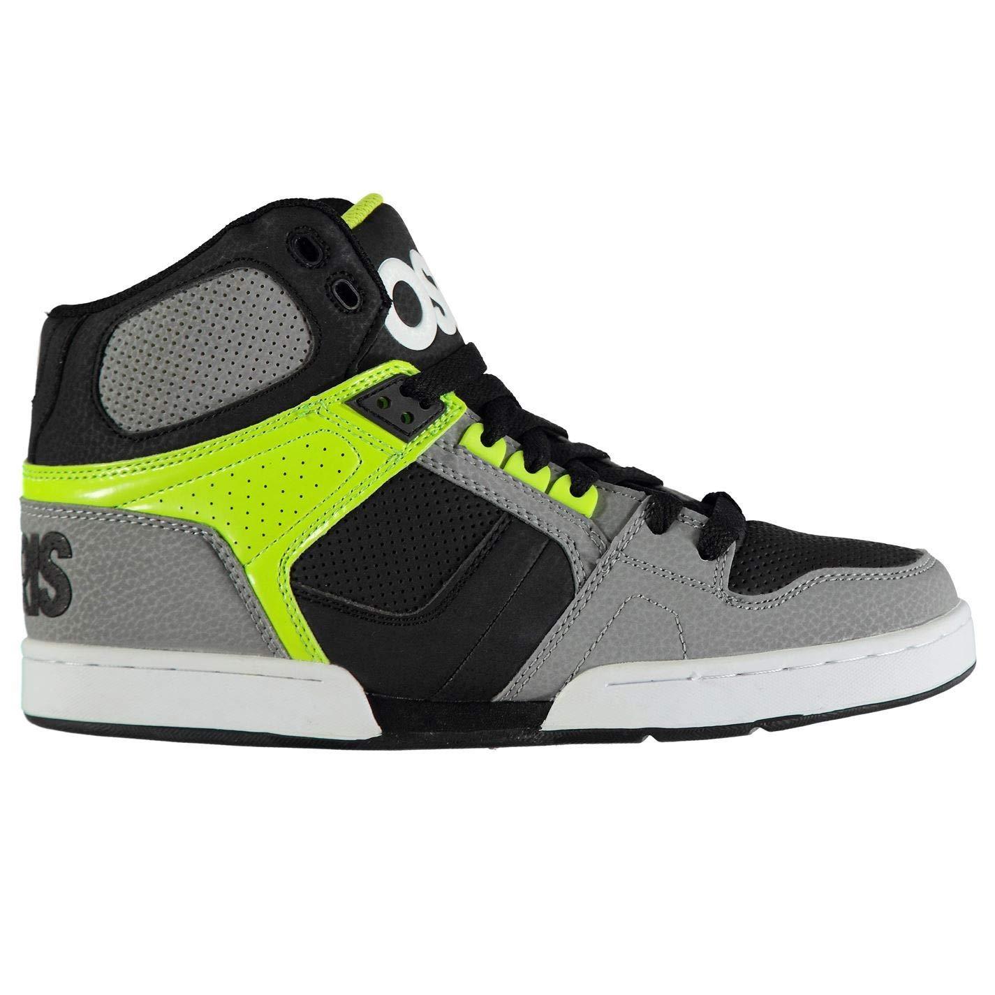 Official Brand Osiris NYC 83 Herren Skateboardschuhe Skateboardschuhe Skateboardschuhe Grau Limettengrün 076b76