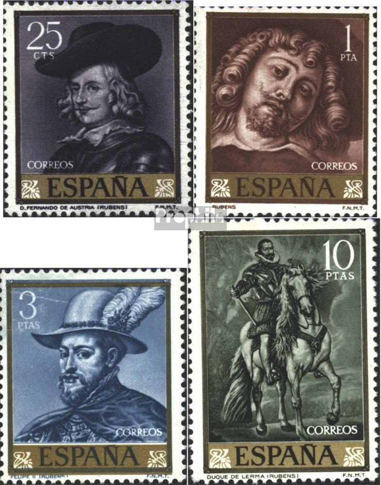 Prophila Collection España Michel.-No..: 1322-1325 (Completa ...