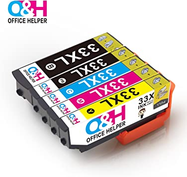 OFFICE HELPER 33XL 33 Cartuchos de Tinta Compatibles para Epson ...