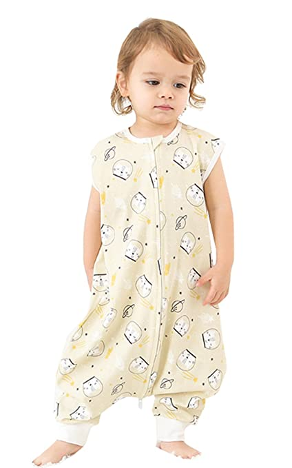 chils uessy – Saco de dormir para bebé niños pequeños sin mangas Verano Saco de dormir