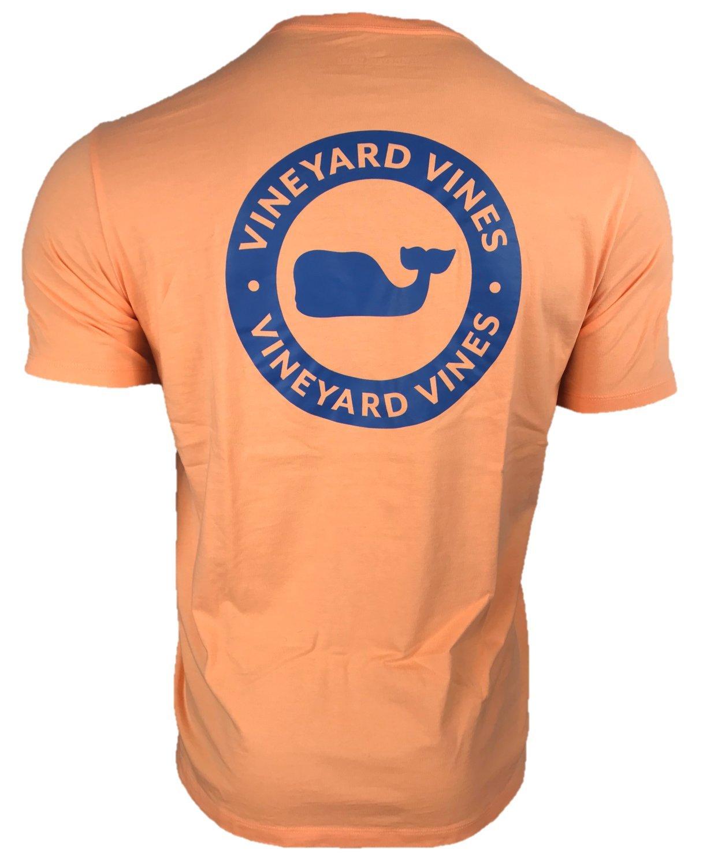Vineyard Vinesメンズ半袖City Whale Teeシャツ B07844YHH2 M|メロン メロン M