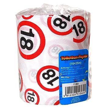 Papel higiénico 18 años regalo para los longitud cumpleaños 25 M papel higiénico