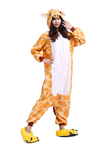 YUWELL Kigurumi Pijamas Unisex Adulto Anima Traje Disfraz Onesie Pyjamas: Amazon.es: Ropa y accesorios