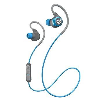 JLab Epic inalámbrica Bluetooth 4.0 auriculares Deportes con 10 horas de batería y IPX4 impermeable Clasificación, Negro: Amazon.es: Electrónica