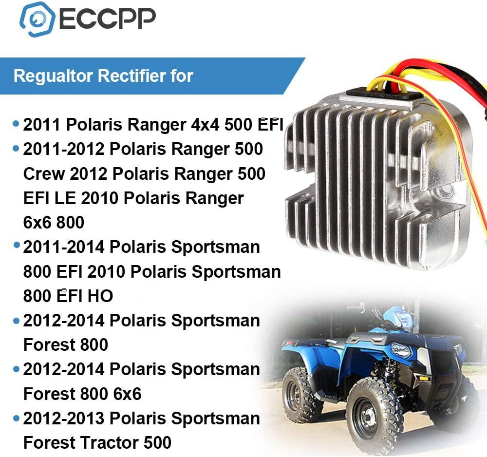 NEW 12V RECTIFIER REGULATOR FITS POLARIS UTV RANGER 4X4 500 EFI 2012 4012748