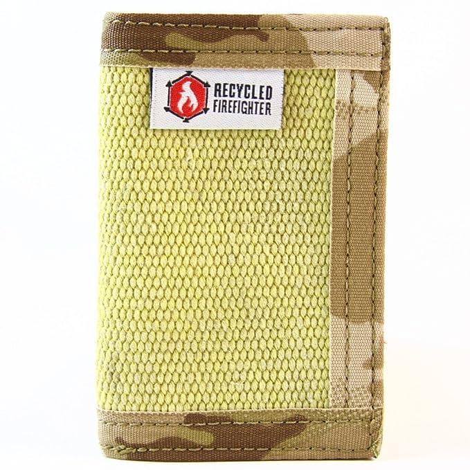 Billetera con clip de piel plegable reciclada de mangueras ...