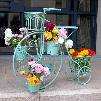 ACZZ Soporte de flor para bicicleta - Soporte de metal para ...