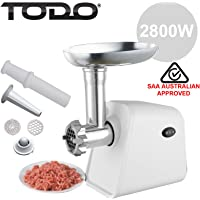 TODO Powerful Electric Meat Grinder Sausage Maker with Quick Release Function